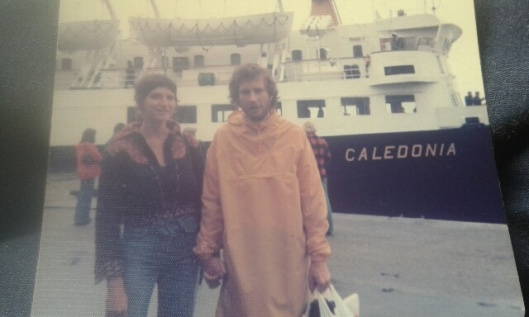 Honeymoon with Brian in Oban (1977)